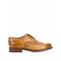 Grenson Sapato brogue de couro 'Stanley' - Marrom - FarFetch BR