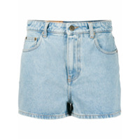 Mcq Alexander Mcqueen Short Color Block - Azul