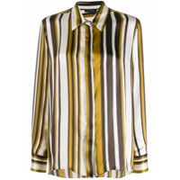 Antonelli Striped Silk Shirt - Amarelo