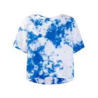 Suzusan Camiseta Tie Dye - Azul