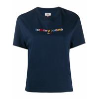 Tommy Jeans Camiseta Com Logo - Azul