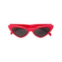 Moschino Eyewear Óculos De Sol Gatinho - Vermelho