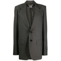 Junya Watanabe Boxy Blazer Jacket - Cinza