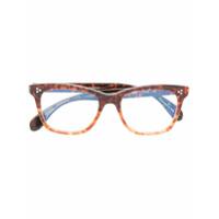 Oliver Peoples Óculos De Grau 'penney' - Marrom