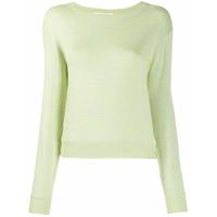 Rag & Bone Suéter De Tricô Com Textura - Verde