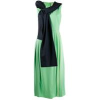Roksanda Vestido Lira - Cinza