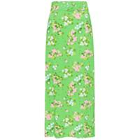 Bernadette Saia Midi Floral - Verde