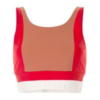 Vaara Blusa Esportiva Cropped - Vermelho