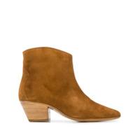 Isabel Marant Ankle Boot 'dacken' - Marrom