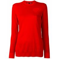 Proenza Schouler Suéter Com Recorte - Vermelho