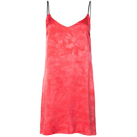 Amiri Slip Dress De Seda - Rosa