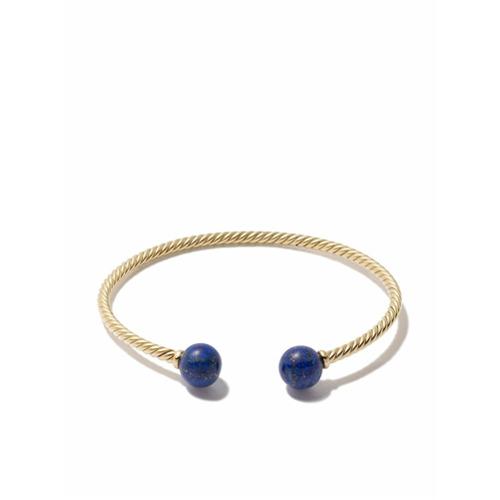 Imagem de David Yurman Bracelete 'Solari' de ouro 18k com lapis lazuli - 88Bla