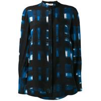 Alexander Mcqueen Long-Sleeve Printed Shirt - Azul
