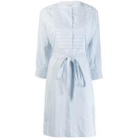 Gentry Portofino Camisa Longa Com Botões - Azul