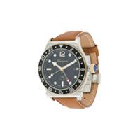 Salvatore Ferragamo Watches Relógio 1898 Gmt Chronograph de 44mm - Metálico