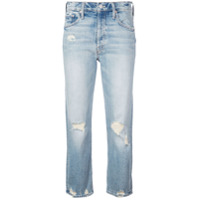Mother Calça Jeans Cropped Tomcat - Azul