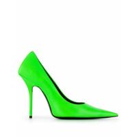 Balenciaga Scarpin De Couro - Verde
