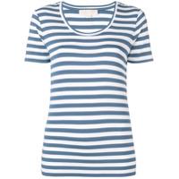 Michael Michael Kors Camiseta Com Estampa De Listras - Azul