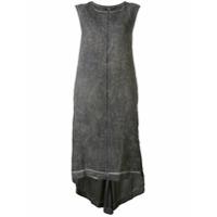 Isaac Sellam Experience Vestido Assimétrico - Cinza