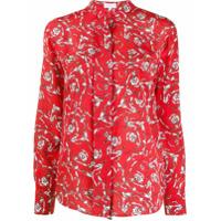 Escada Sport Floral Print Shirt - Vermelho