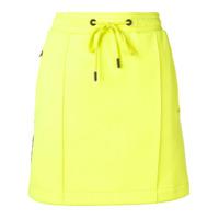 Kenzo Saia Jeans Com Logo - Amarelo