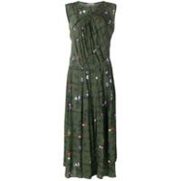 Preen Line Vestido 'clementina' Floral - Green
