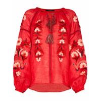 Vita Kin Blusa 'magnolia' - Vermelho