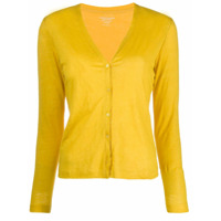 Majestic Filatures Cardigan Slim - Amarelo