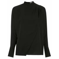 Egrey Blusa Com Franzidos - Preto