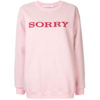 Walk Of Shame Moletom 'sorry' - Rosa