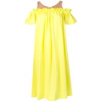 Neul Vestido Midi - Amarelo
