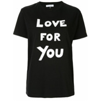 Bella Freud Camiseta 'love For You' - Preto