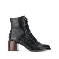 Chie Mihara Omast Lace-Up Ankle Boots - Preto