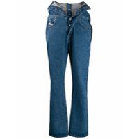 Diesel Red Tag Calça Jeans Com Sobreposição Na Cintura - Azul