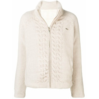 Liu Jo Basic Zipped Cardigan - Neutro