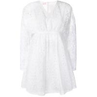 Giamba Vestido Com Detalhe Vazado - Branco