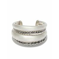 David Yurman Bracelete 'pure Form' De Prata - Ss