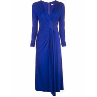 Jason Wu Collection Vestido Com Estilo Drapeado - Azul