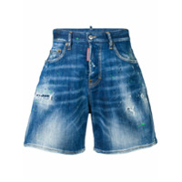 Dsquared2 Bermuda Jeans - Azul