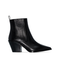 Aeyde Kate 80Mm Ankle Boots - Preto