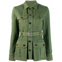 House Of Holland Military Jacket - Verde