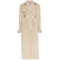 Supriya Lele Trench Coat Oversized - Neutro