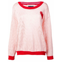 Marco Rambaldi Crew Neck Knitted Top - Rosa