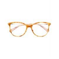 Chloé Eyewear Óculos Tortoiseshell - Amarelo