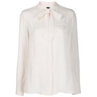 Fay Camisa Com Monograma - Rosa