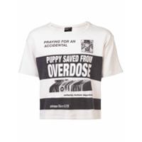 Enfants Riches Déprimés Camiseta Com Estampa De Slogan - Branco