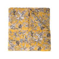 Brunello Cucinelli Echarpe Estampado - Amarelo