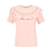 Martha Medeiros T-Shirt Com Ponto Palito - Rosa