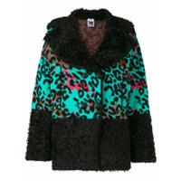 M Missoni Knitted Leopard Jacket - Preto