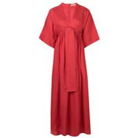 Three Graces Vestido Ferrers - Vermelho